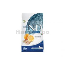 N&D Grain Free Ocean Dog Adult Mini Herring & Orange 800g