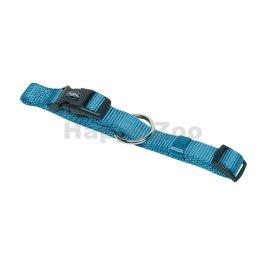 Obojek NOBBY Classic nylonový světle modrý 13-20cm