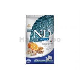 N&D Low Grain Ocean Dog Adult Medium/Maxi Codfish & Orange 2,5kg