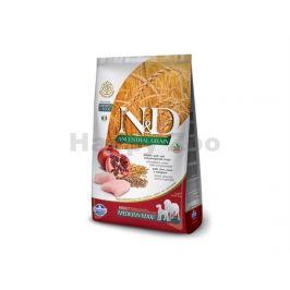 N&D Low Grain Dog Puppy Medium/Maxi Chicken & Pomegranate 12kg