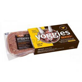 YOGGIES B.A.R.F. Maso+ 100% kuře s probiotiky 500g