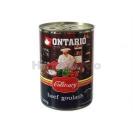 Konzerva ONTARIO Culinary Beef Goulash 400g