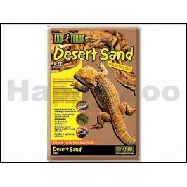 EXOTERRA Desert Sand Red - červený pouštní písek 4,5kg