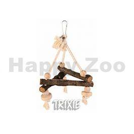 Závěsný dřevěný triangl TRIXIE 27cm