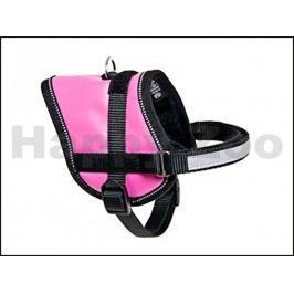 Postroj KARLIE-FLAMINGO Teeny Weeny růžový (M) 31-40x1,5cm