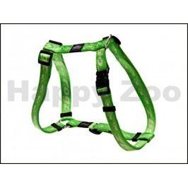 Postroj ROGZ Alpinist SJ 25 G-Lime (L) 2x29-64x45-75cm