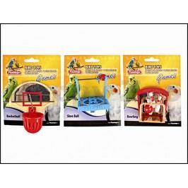 Hračka pro ptáky KARLIE-FLAMINGO - sportovní hříště 6x6x6cm (MIX