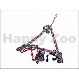 Hračka pro ptáky KARLIE-FLAMINGO - bavlněný trojúhelník s uzly T
