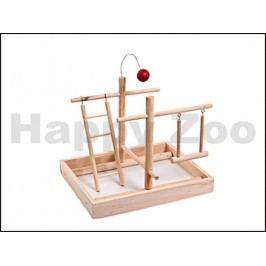 Hračka pro ptáky KARLIE-FLAMINGO - hrací hřiště (M) 28x23x23cm