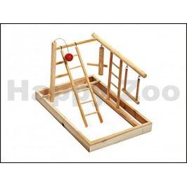Hračka pro ptáky KARLIE-FLAMINGO - hrací hřiště (L) 35x25x27cm