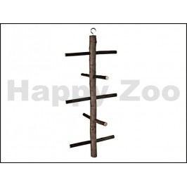 Hračka pro ptáky TRIXIE - žebřík nepravidelný 5 příček 47cm