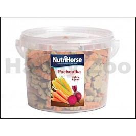 NUTRI HORSE pochoutka pro koně s mrkví a jetelem 1kg