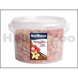 NUTRI HORSE pochoutka pro koně s vanilkou a jahodou 1kg