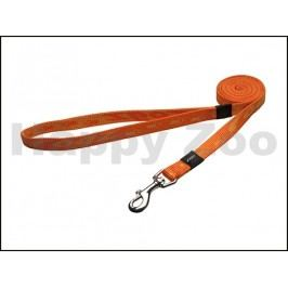 Vodítko ROGZ Alpinist HLL 23 D-Orange (M) 1,6x148cm