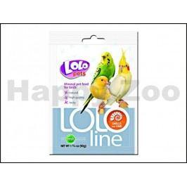LOLO Line mušle a vápník pro ptáky 50g