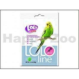 LOLO Line perličky na mluvení pro andulky 20g