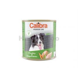 Konzerva CALIBRA Dog Premium Poultry and Vegetable 800g (DOPRODE