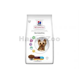 HILLS Canine VetEssentials Adult Neutered Dog Small & Mini Chick