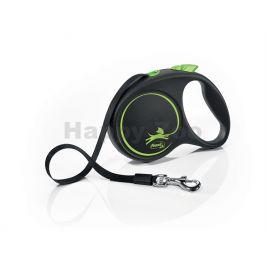 FLEXI Black Design (L) pásek zelené (5m, do 50kg)