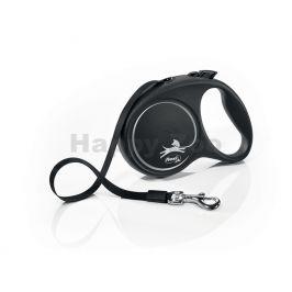 FLEXI Black Design (L) pásek černé (5m, do 50kg)
