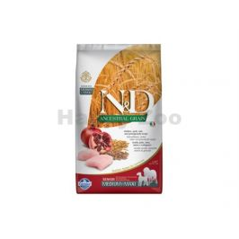 N&D Low Grain Dog Senior Medium/Maxi Chicken & Pomegranate 2,5kg