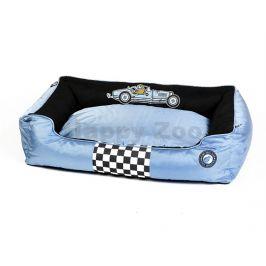 Pelech KIWI WALKER Racing Kiwi Buggatti Sofa Bed Blue/Black (XXL