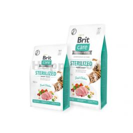 BRIT CARE Cat Grain-Free Sterilized Urinary Health 400g