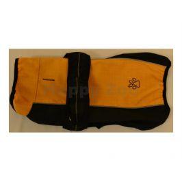 Obleček SAMOHÝL vesta Esmé XL černá-okrová 36cm