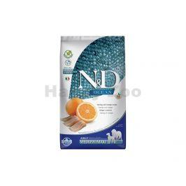 N&D Grain Free Ocean Dog Adult Medium/Maxi Herring & Orange 12kg