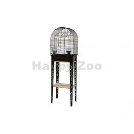 Klec pro ptáky ZOLUX Chic Patio černá (S) 52x25x38cm (včetně pod