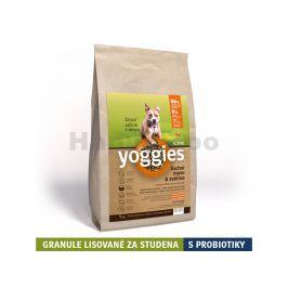YOGGIES Active kachní maso & zvěřina 5kg