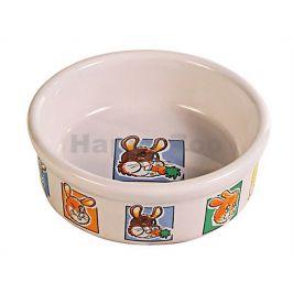 Porcelánová miska TRIXIE králík 300ml (11cm) (DOPRODEJ)