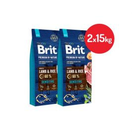 Brit premium by nature sensitive lamb 2x15kg