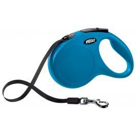 Vodítko Flexi Classic New páska M 5m modré