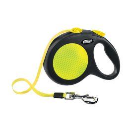 Vodítko Flexi New Neon páska L 5m