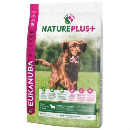 Eukanuba nature plus+ puppy & junior rich in freshly frozen lamb 10kg