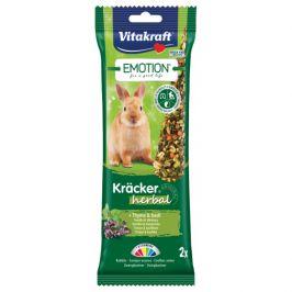 Tyčinky Vitakraft Emotion kracker králík herbal 2ks
