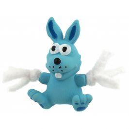 Hračka dog fantasy latex mini králík modrá se zvukem 7cm