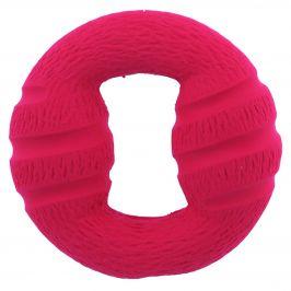 Hračka dog fantasy latex kruh červená se zvukem 13cm