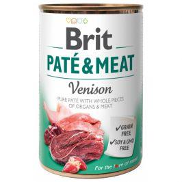 Konzerva Brit Paté & Meat Venison 400g