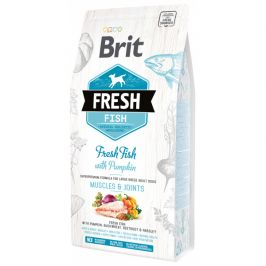 Brit fresh fish with pumpkin adult large 2,5kg