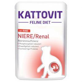 Kapsička Kattovit Niere/Renal hovězí 85g