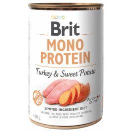 Konzerva Brit Monoprotein Turkey & Sweet Potato 400g