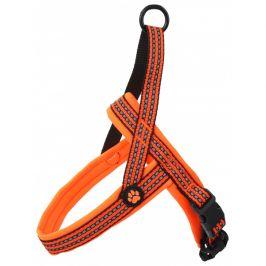 Postroj active dog neoprene xl oranžový 3,2x88-110cm
