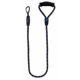 Vodítko active dog sport l modré 1,3x120cm