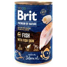 Konzerva Brit Premium by Nature Fish with Fish Skin 400g