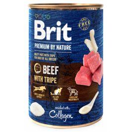 Konzerva Brit Premium by Nature Beef with Tripes 400g