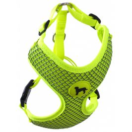 Postroj active dog mellow l limetka 2x45-65cm