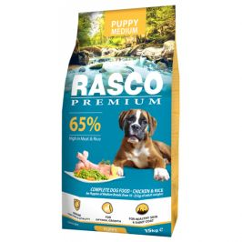 Rasco premium puppy/junior medium 15kg