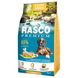 Rasco premium puppy/junior medium 3kg